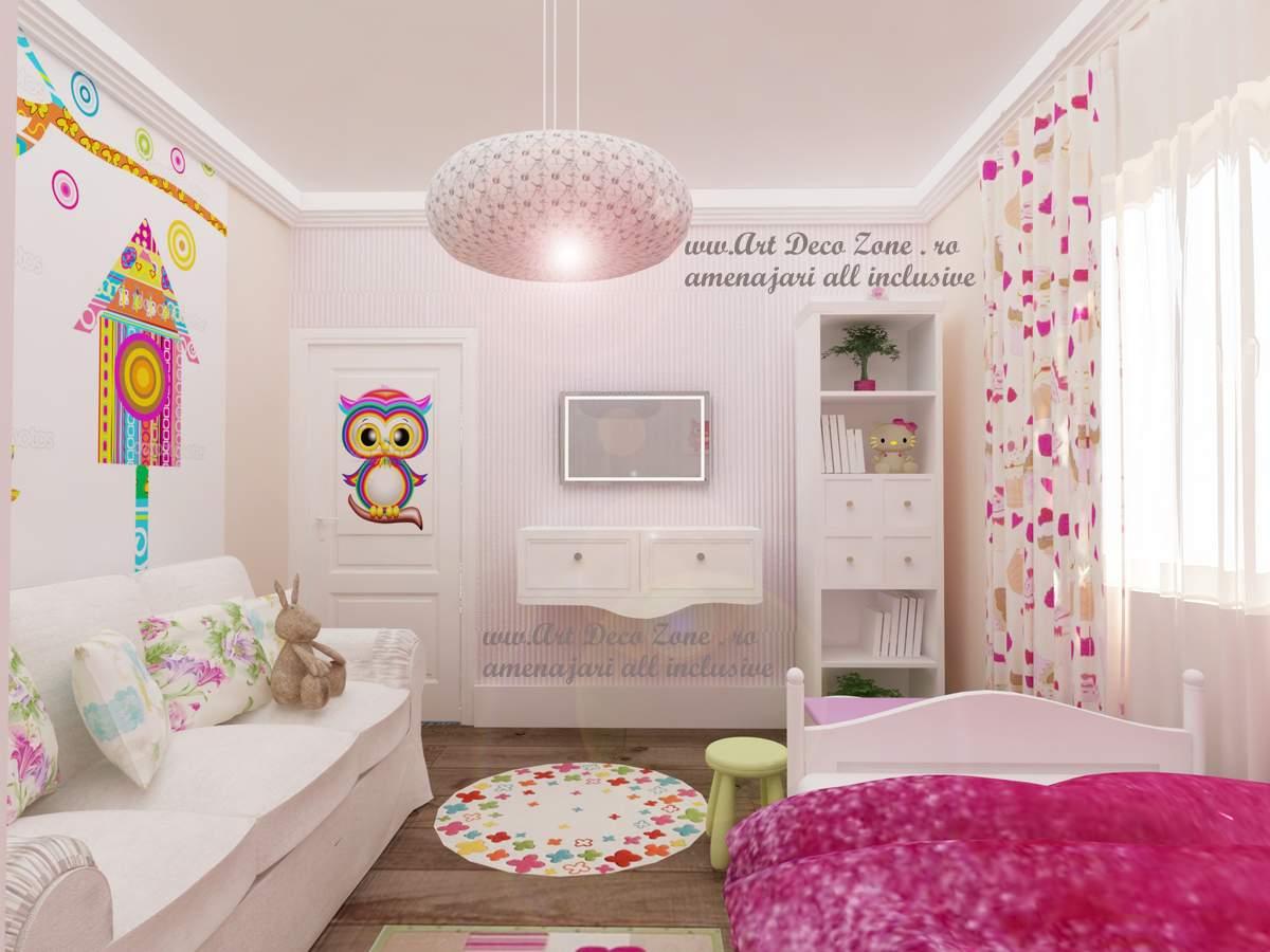 Camere Shabby Chic Foto : Design in stil shabby chic pentru o vila din slobozia art deco