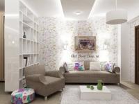 <h5>Living retro</h5><p>Amenajari de apartament intr-un stil vintage cu floricele si lemn masiv pentru o doamna indragostita de quilting - click pe poza pentru a afla povestea acestei amenajari. </p>