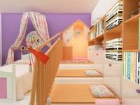 <h5>Casuta din dormitor</h5><p>Locul de joaca e cel mai important pentru cei mici, iar imaginatia le zboara cand le oferi o scena pe care se desfasoare. </p>