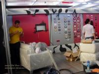 <h5>Montaje</h5><p>Au fost transportate piesele de mobilier, toate sunt infoliate pentru a fi protejate iar in paralel se monteaza produsele electrice.</p>