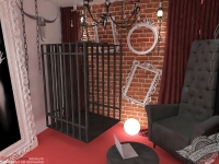 <p>Aceasta camera speciala este conceputa ca dungeonul ce asteapta stapana. </p>