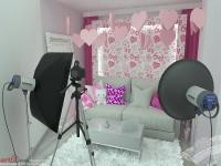 <p>Camera aceasta este ca o bombonica, am dorit sa aiba o tema romantica adolescentina. </p>