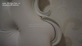 <h5>Detalii tetiera pat</h5><p>Patul, este o piesa deosebita care se asorteaza perfect cu decorul din tapet. </p>