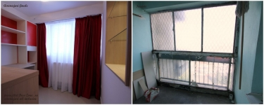 <h5>Before & after</h5><p>Balconul, transformat, de la stadiul inital, la amenajarile finale, mobilare si decorare.</p>