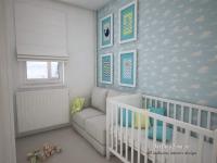 <h5>Camera bebelusului</h5><p>A fost conceputa in locul bucatariei, care a fost mutata pe balcon. </p>