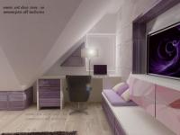 <h5>Birou in dormitor</h5><p>Biroul a fost conceput special pentru a se incadra bine sub grinda, la fereastra. </p>
