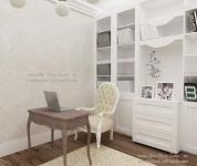 <h5>Birou</h5><p>In living am amplasat si un birou de studiu acompaniat de o biblioteca discreta.</p>