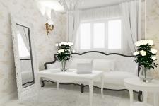 <p>Aspectul amenajarii este luxos, elegant si totusi usor de realizat. </p>