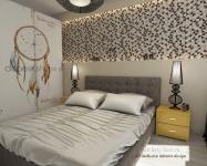 <h5>Dormitorul matrimonial</h5><p>Atmosfera este relaxanta in tonuri de beige si mustar</p>