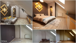 <h5>Multiple comparatii</h5><p>Imagini comparative in diferite situatii de la starea initiala a apartamentului, in lucru, proiect 3D, amenajari finale. </p>