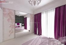 <h5>Dormitor romantic</h5><p>Orhideele delicate supradimensionate de pe dressing dau o atmosfera deosebita acestui dormitor. </p>