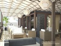 <h5>Interior</h5><p>Vedere interior terasa - amenajare simpla si confortabila. </p>