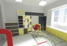 <h5>Culori neconventionale</h5><p>Nuantele vesele ale mobilierului degaja optimism si il incurajeaza pe cel mic sa fie creativ. </p>