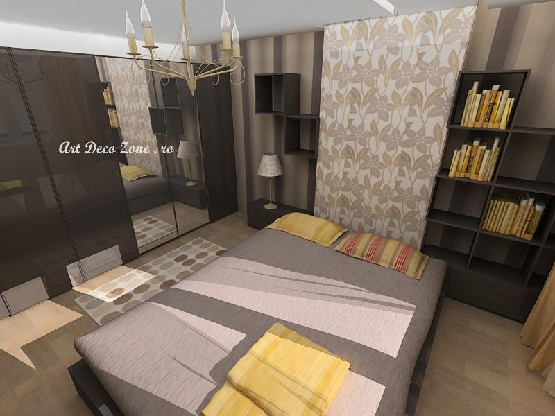 Apartament mic 2 camere proiect si amenajare la cheie for Design apartment 2 camere