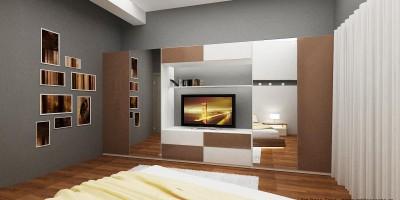 Dormitor matrimonial - mobilier la comanda