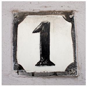house number set