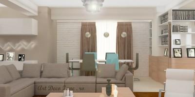 Sufragerie cu loc de luat masa