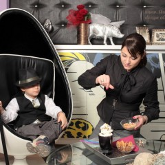 Amenajari atelier – sedinta foto Ziua Femeii
