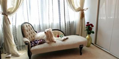 Sofa clasica design dormitor