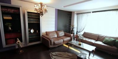 Amenajari interioare complete living modern