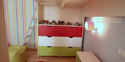 Amenajari interioare la cheie camera copil