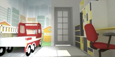Design interior camera de copii