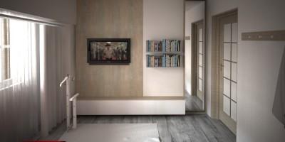 Dormitor matrimonial amenajari interioare design