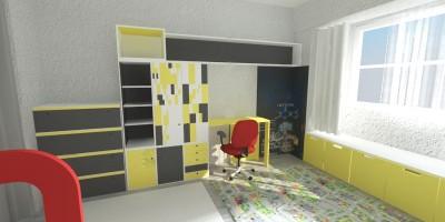 Camera baietel proiect design