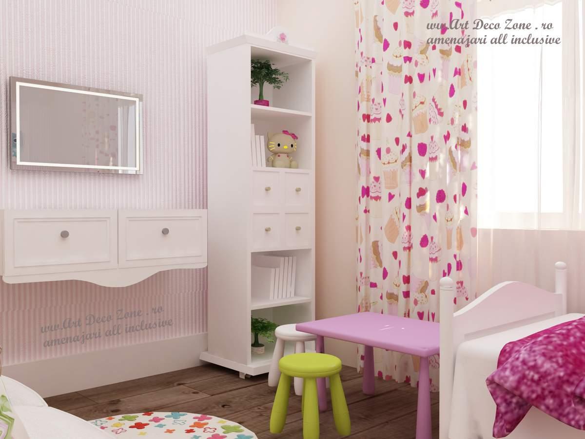 design in stil shabby chic pentru o vila din slobozia art deco zone knox design amenajari. Black Bedroom Furniture Sets. Home Design Ideas