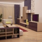 Design apartament mic in culori calde