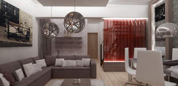 Design interior duplex la cheie – Brasov