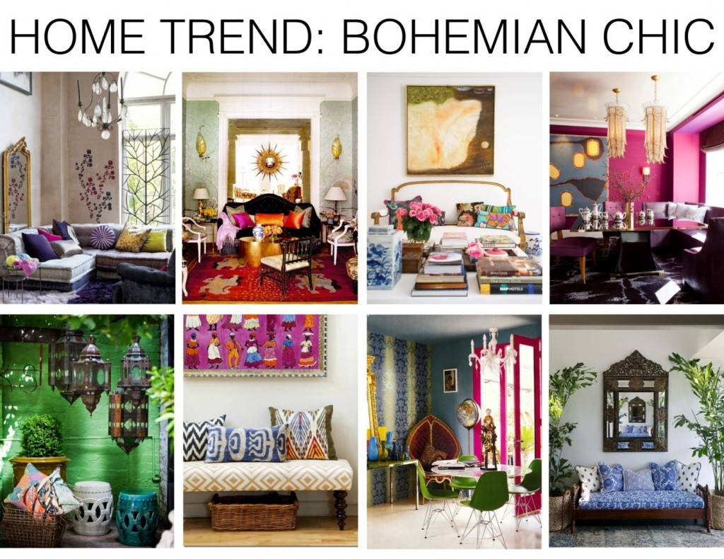 Amenajari in stil bohemian chic