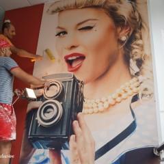 Amenajare magazin Monda, vintage fashion