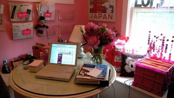Amenajari cu flori la birou