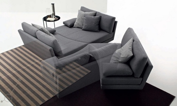 Canapele extensibile comode si usor de extins art deco for Canapea pat