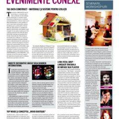Seminarii ținute de designerul Irina Constantin la Expo Casa