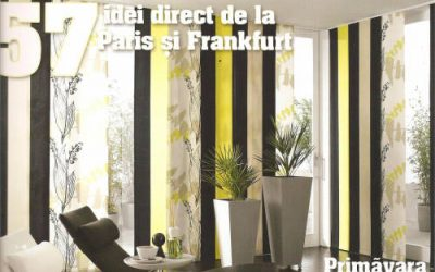 Combinație de culori glamour propusă de designerul Irina Constantin de la Knox Design