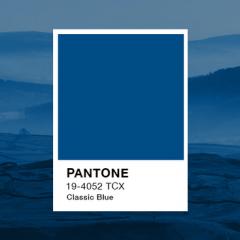 Culoarea anului 2020 – Albastru clasic –  Classic Blue