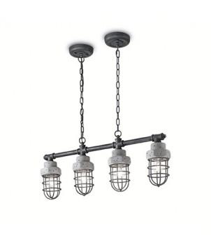 lampa suspendata stil industrial