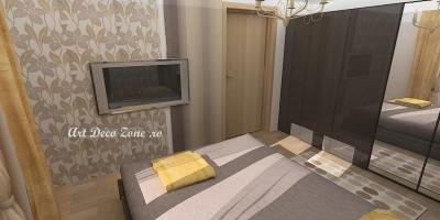 Dormitor cu dressing
