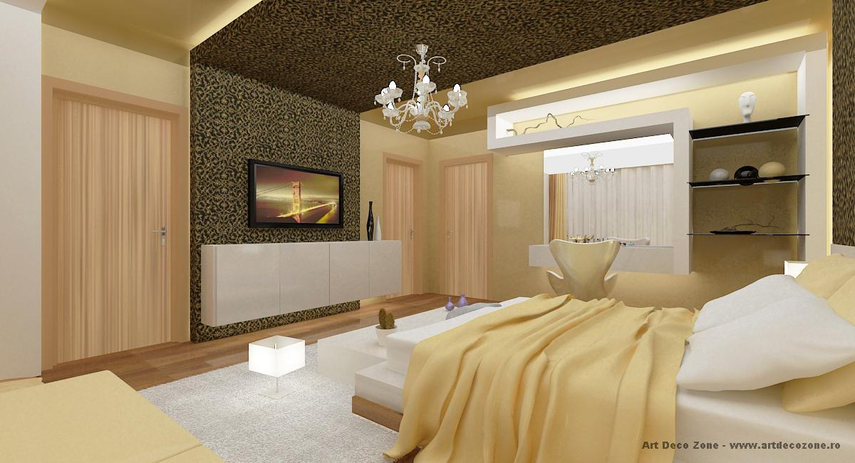 Dormitor matrimonial - auriu