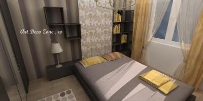 Amenajari interioare dormitor matrimonial