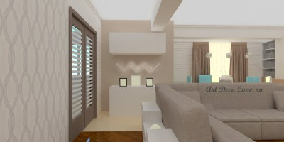 Living designer de interior
