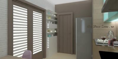 Amenajari interioare bucatarie design 3D
