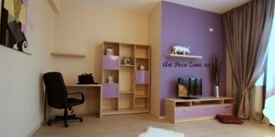 Birou de lucru in living - mobilier la comanda