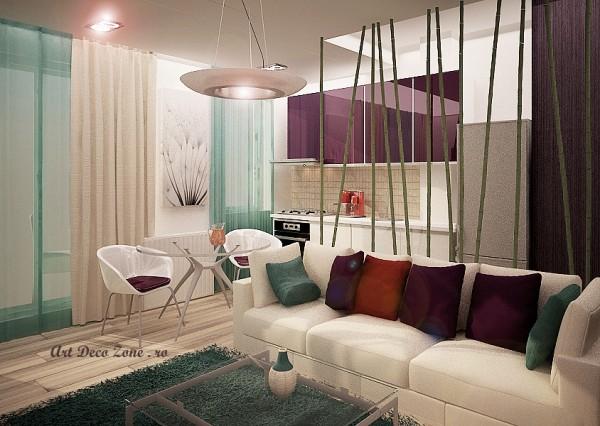 Design interior garsoniere