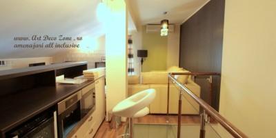 Design decorativ living la mansarda