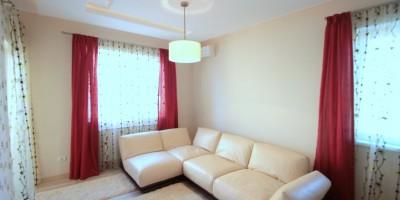 Canapea din piele pentru dormitor de oaspeti