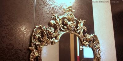 Oglinda cu rama decorativa, baroc