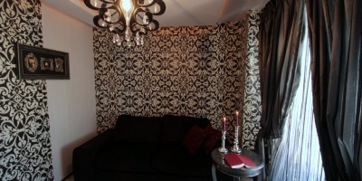 Tapet decorativ dormitor de oaspeti